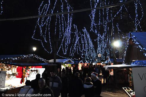 Main Christmas market in Riquewihr