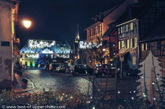 Bergheim on a December evening