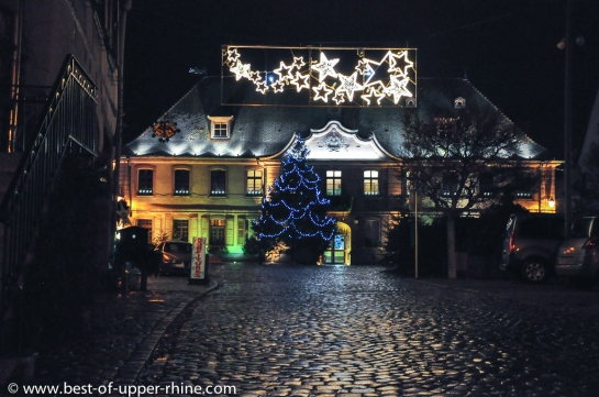 Christmas 2012, Town Hall of Bergheim, Alsace