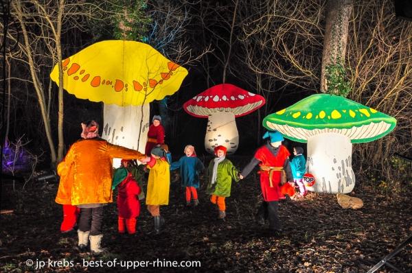 Osthouse, les Sentiers de Noël. Plus qu'un spectacle: une expérience !