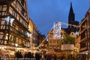 Féérie des illuminations de Noël à Strasbourg