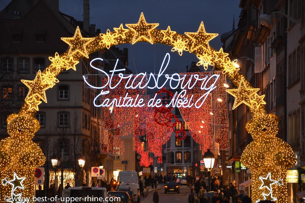 Strasbourg capitale de no l bons baisers du rhin sup rieur - Plus beau marche de noel alsace ...
