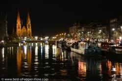 Autour de l'île centrale de Strasbourg...