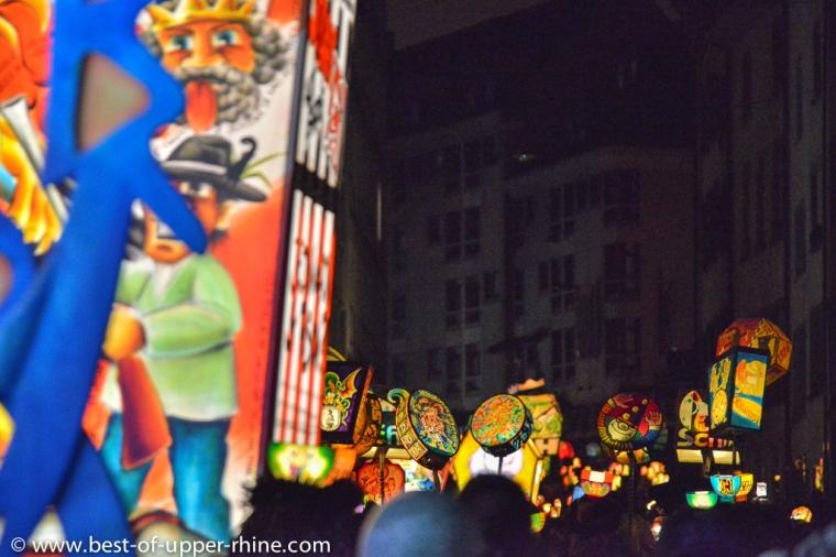Cortège de lanternes - Carnaval de Bâle