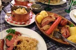 Votre table de Noël et Nouvel An au pays de Riquewihr, Ribeauvillé etSélestat