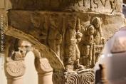 Arrivée des rois Mages, cloître d'Eschau, musée de l'Oeuvre Notre-Dame, Strasbourg.