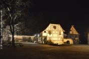 La grande ferme de la place des Charpentiers. Ecomusée d'Alsace.