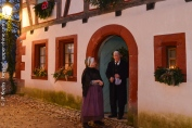 A l'Ecomusée d'Alsace, on croise des personnages surgis d'un autre temps...