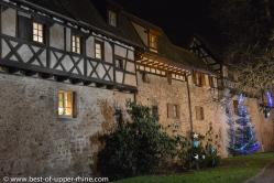 Remparts de l'an 1500 à Riquewihr.