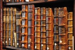 Une partie de la collection de Beatus Rhenanus telle qu'elle est présentée aujourd'hui.