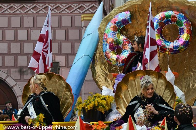 La reine du Carnaval de Mulhouse 2013