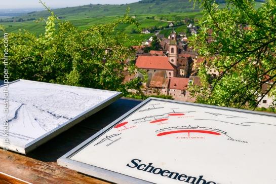 Les sentiers viticoles sont jalonnés de panneaux explicatifs