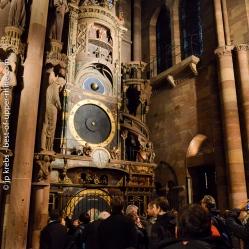 L'horloge astronomique de la cathedrale de Strasbourg.