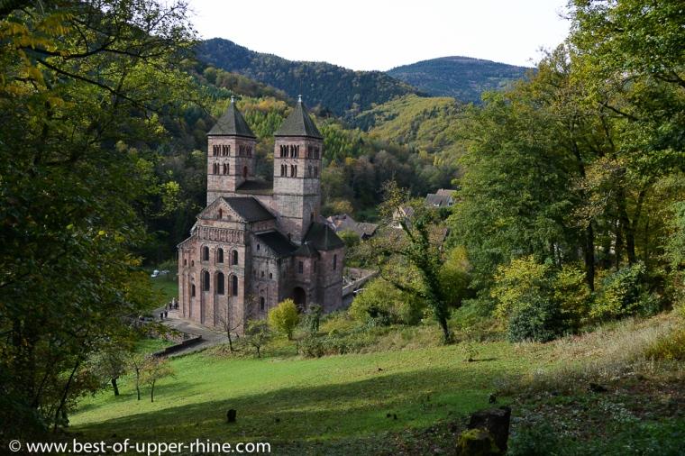 Abbaye de Murbach près de Guebwiller