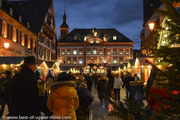 Marché de Noël à Gengenbach en Allemagne
