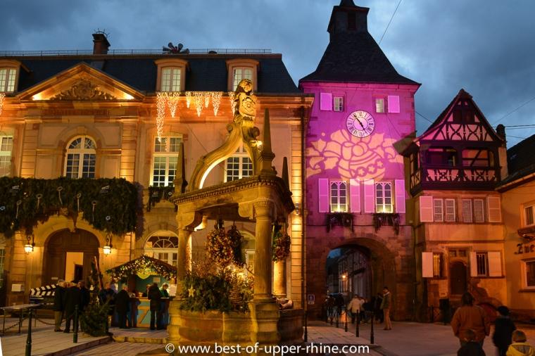 Rosheim, au pays du Mont Ste-Odile au temps des marchés de Noël...