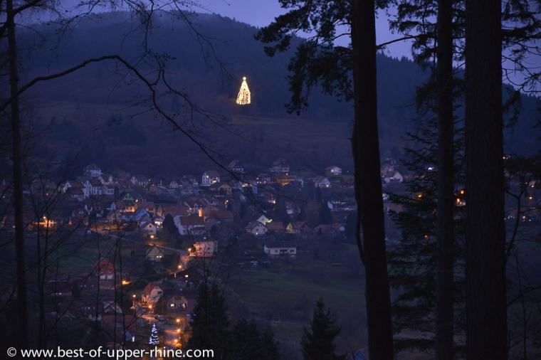 Le sapin de Noël géant de Grendelbruch