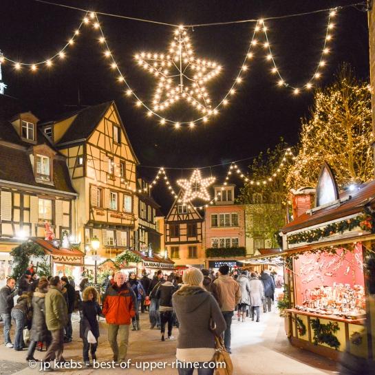 Marché de Noël autour de l'église des Dominicains, Colmar