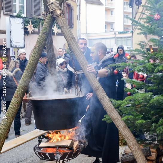 Marché de Noël médiéval à Ribeauvillé