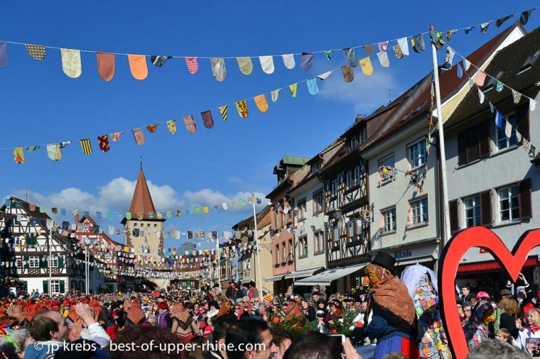Défilé au carnaval de Gengenbach, Allemagne.