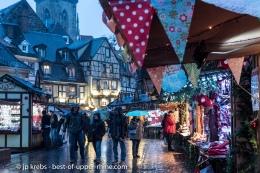 Les 5 marchés de Noël deColmar…