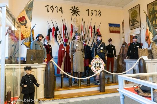 Salle 1914-1918 du musée Serret à Saint Amarin