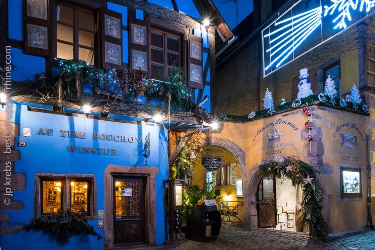 Winstub Au Tire-Bouchon et cave historique de la Maison Zimmer à Riquewihr