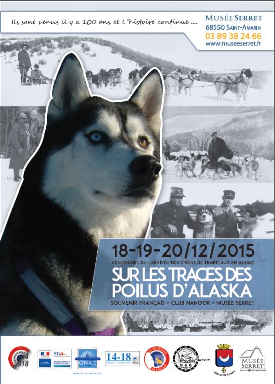 Centenaire de l'arrivée dans les Vosges des Poilus d'Alaska