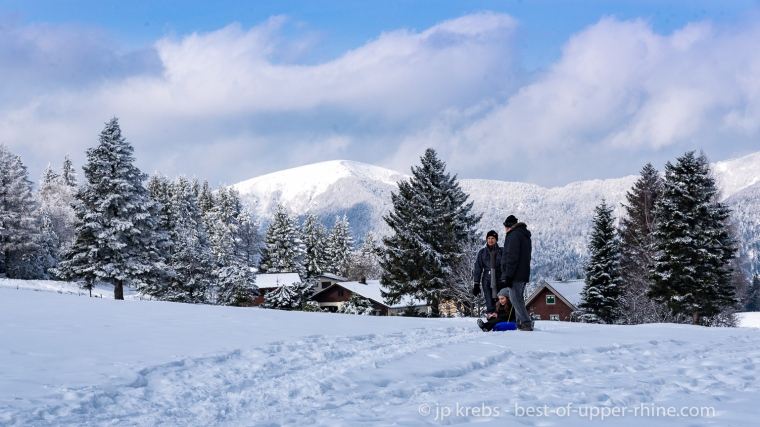 Au Schnepfenried, station familiale des Hautes-Vosges alsaciennes…