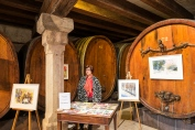 Caves Ouvertes à Mittelbergheim : la belle cave du domaine GILG