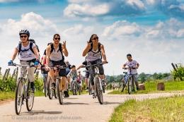 Slow-Up Alsace 2016, sur la route du vin à vélo, à pied ou en trottinette!