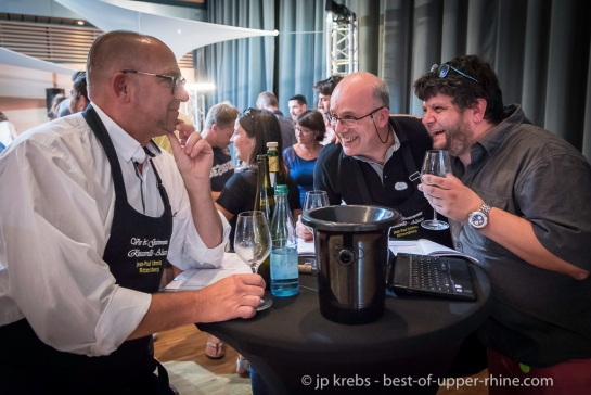 Yves Beck Beckustator à la Fete du vin de Ribeauvillé - 3