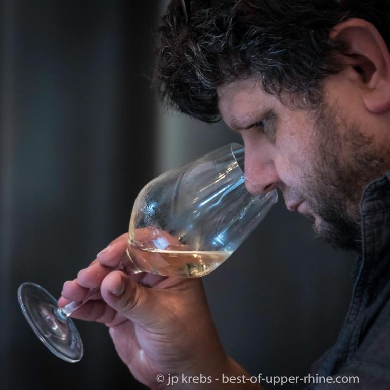 Yves Beck Beckustator à la Fete du vin de Ribeauvillé - 4