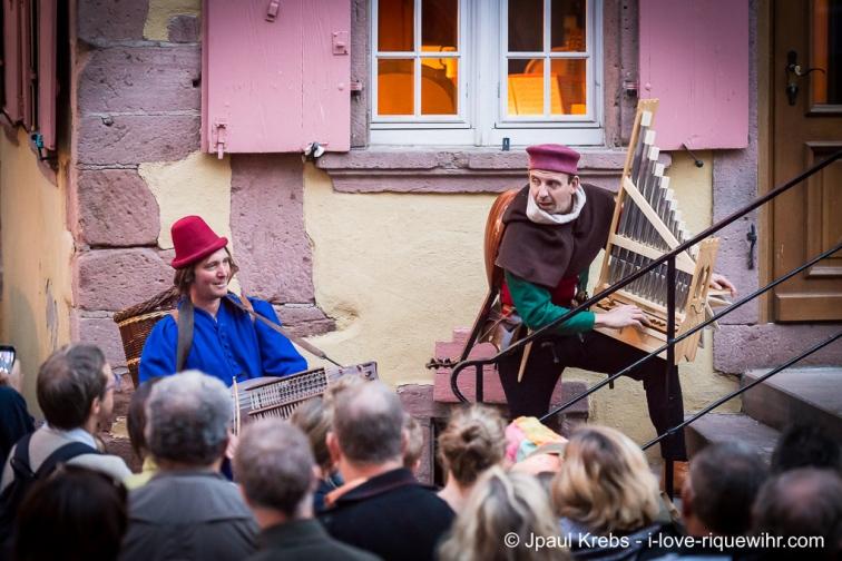 Riquewihr au son du luth, de la vielle à roue et de la bombarde…