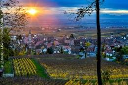 Paysages d'automne sur la Route des Vins d'Alsace – petite galeriephoto