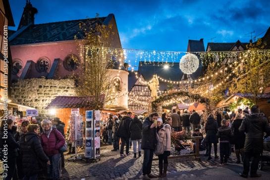 Eguisheim et son joli marché de Noël