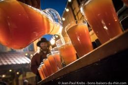 Avec les Croqueurs de Pommes au marché de Noël médiéval de Ribeauvillé!