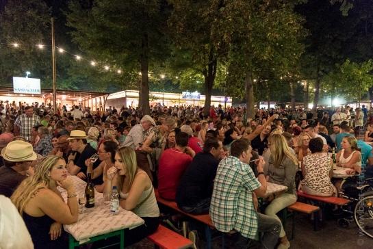 Breisach-am-Rhein Weinfest, la fête du vin à Vieux-Brisach.