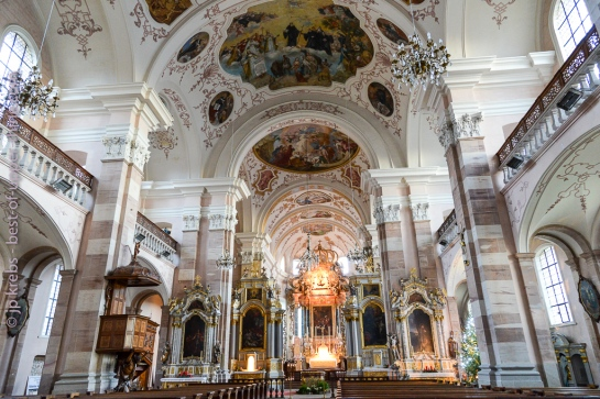 L'église abbatiale d'Ebersmunster