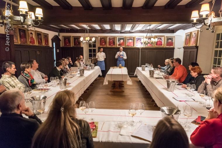 Les vins d'Alsace et la pâtisserie, atelier avec Thierry Mulhaupt, maître pâtissier.